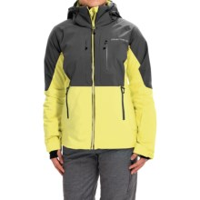 Obermeyer Vertigo Ski Jacket - Waterproof, Insulated (For Women) in Daffodil - Closeouts