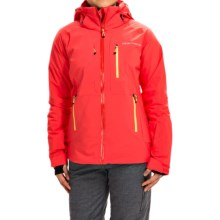 Obermeyer Vertigo Ski Jacket - Waterproof, Insulated (For Women) in Tiger Lily - Closeouts