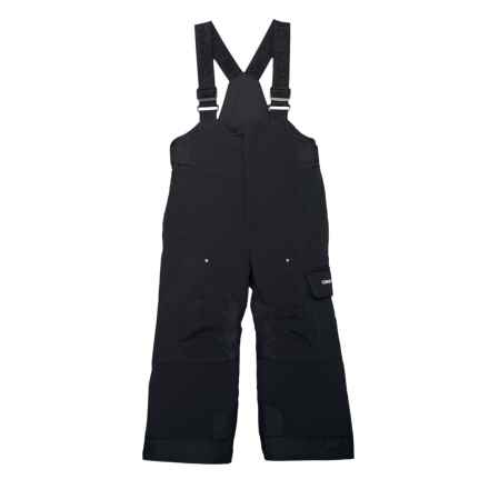 Obermeyer Volt Bib Snow Pants - Waterproof, Insulated (For Toddler, Little and Big Boys) in Black - Closeouts