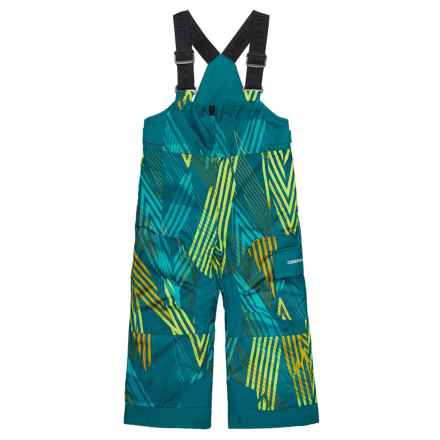 Obermeyer Volt Bib Snow Pants - Waterproof, Insulated (For Toddler, Little and Big Boys) in Thunder Cove - Closeouts
