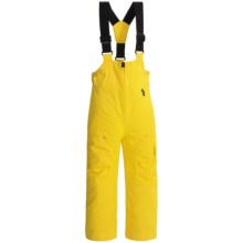 Obermeyer Volt Ski Bibs - Waterproof, Insulated (For Little Boys) in Cyber Yellow - Closeouts