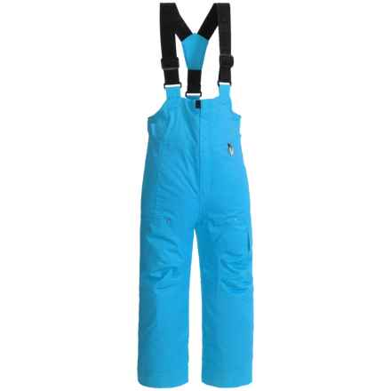 Obermeyer Volt Ski Bibs - Waterproof, Insulated (For Little Boys) in Glacier Blue - Closeouts