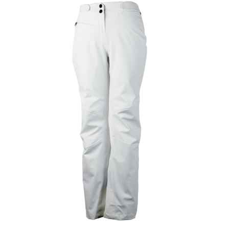 Obermeyer Warrior Ski Pants - Waterproof, Insulated (For Women) in White - Closeouts