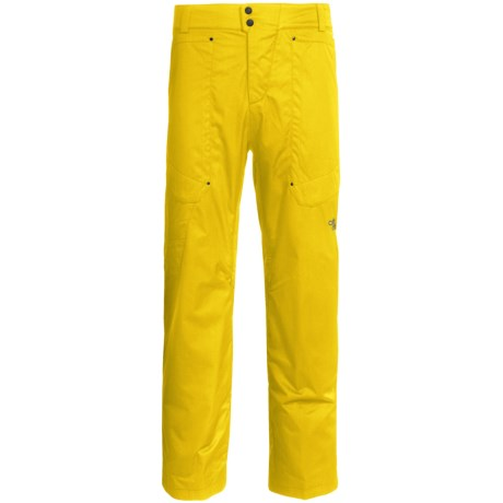 Obermeyer Yukon Snow Pants - Insulated (For Men) in Yellow