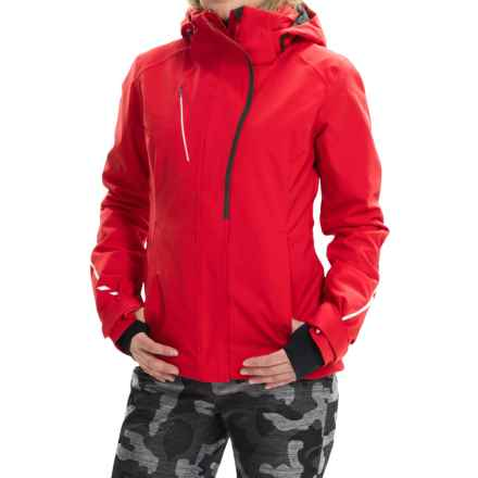 Obermeyer Zermatt Ski Jacket - Waterproof, Insulated (For Women) in True Red - Closeouts