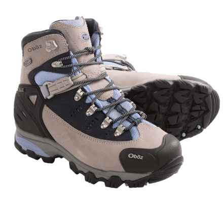 Oboz Beartooth BDry Hiking Boots - Waterproof (For Women) in Sky Blue - Closeouts