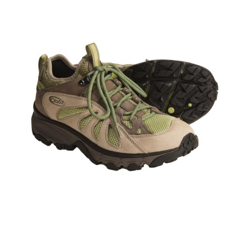 Oboz Footwear Contour Trail Shoes (For Women) in Mint