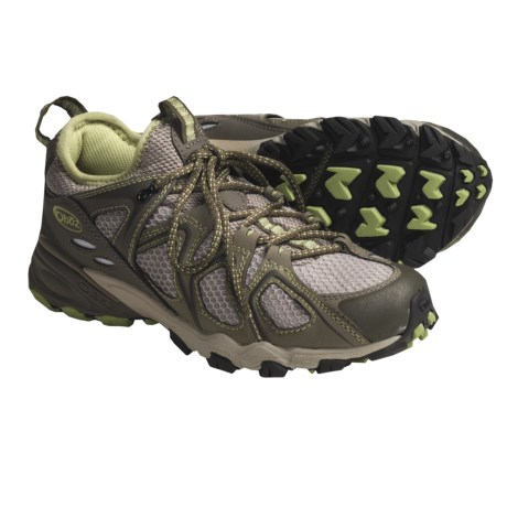 Oboz Footwear Dash Trail Running Shoes (For Women) in Citron