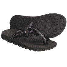 Oboz Footwear Dyno Sandals - Flip-Flops (For Men) in Black - Closeouts