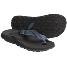 Oboz Footwear Dyno Sandals - Flip-Flops (For Men) in Blue - Closeouts