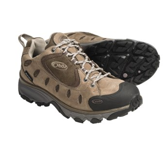 Oboz Footwear Gallatin Trail Shoes - Oiled Nubuck (For Women) in Plum