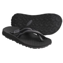 Oboz Footwear Sling Sandals - Flip-Flops (For Men) in Black - Closeouts