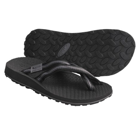 Oboz Footwear Sling Sandals - Flip-Flops (For Men) in Black