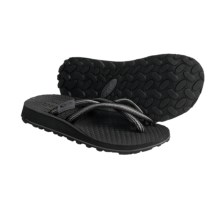 Oboz Footwear Sling Sandals - Flip-Flops (For Women) in Black - Closeouts