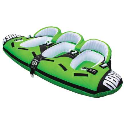 O'Brien O'Brien Aero 3-Person Seated Towable Tube in Green - Closeouts