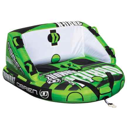 O'Brien O'Brien Turmoil 2-Person Towable Tube in Green - Closeouts