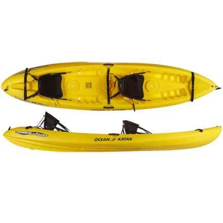 Ocean Kayak Malibu Two Sit-on-Top Tandem Kayak - 12' in Yellow - 2nds