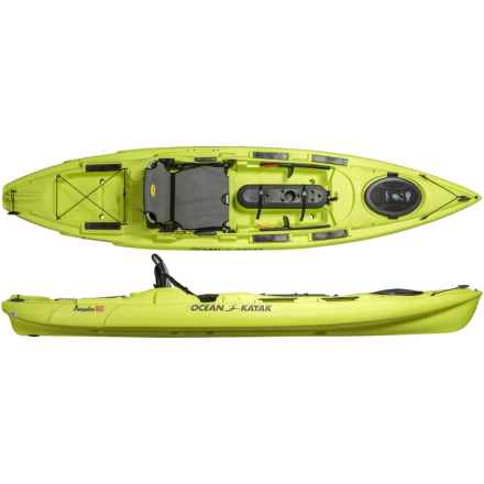 "Ocean Kayak Prowler Big Game II Angler Kayak - 12'9"" in Lemongrass - Closeouts"