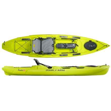 "Ocean Kayak Prowler Big Game II Angler Kayak - 12'9"" in Lemongrass - 2nds"
