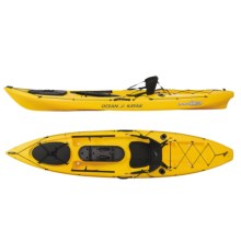 Ocean Kayak Prowler Trident Fishing Kayak - 11.5', Sit-on-Top in Yellow - 2nds