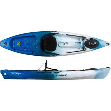 Ocean Kayak Tetra 10 Recreational Kayak - 10'8'', Sit-on-Top in Surf - 2nds