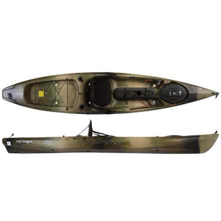 """Ocean Kayak Tetra 12 Angling Kayak - 12'1"""" in Camo - 2nds"""