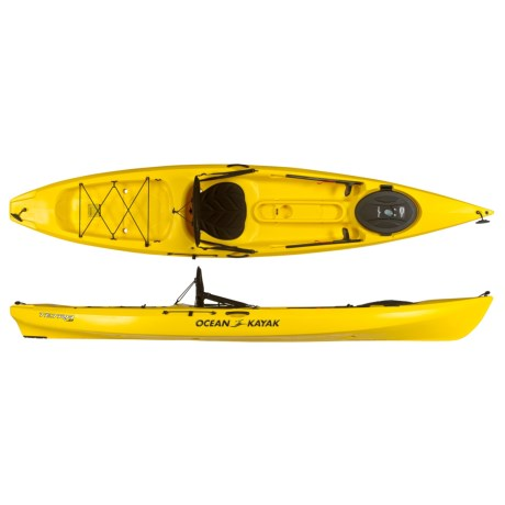 Ocean Kayak Tetra 12 Recreational Kayak - 12', Sit-on-Top in Yellow