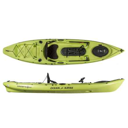 "Ocean Kayak Trident 11 Angler Kayak -11'6"" in Lemon"