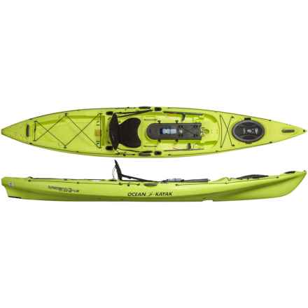 Ocean Kayak Trident Ultra 4.3 Angling Kayak in Lemongrass - 2nds