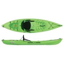 Ocean Kayak Venus 10 Recreational Kayak - 9'10'', Sit-on-Top (For Women) in Lime - 2nds