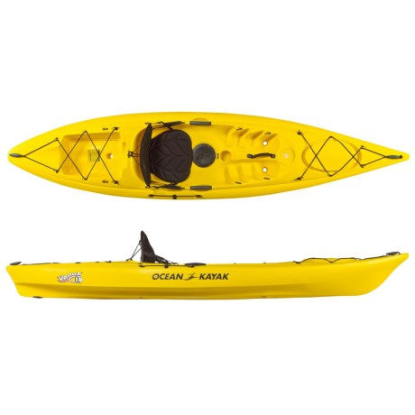 Ocean Kayak Venus 11 Recreational Kayak - 10'8'', Sit-on-Top (For Women) in Yellow