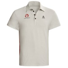 Odlo UPF 50+ Polo Shirt - Short Sleeve (For Men) in Plantina - Closeouts