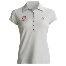 Odlo UPF 50+ Polo Shirt - Short Sleeve (For Women) in Plantina - Closeouts