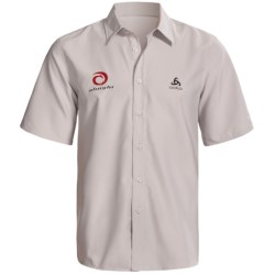 Odlo UPF 50+ Shirt - Short Sleeve (For Men) in Plantina