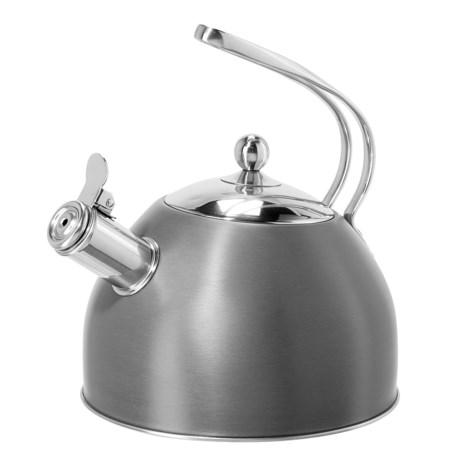 OGGI Aluminum Whistling Tea Kettle - 95 fl.oz. in See Photo