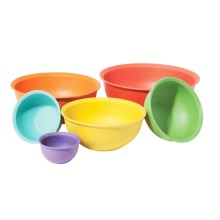 OGGI Bamboo Fiber Mixing Bowl Set - 6-Piece in Multi - Closeouts