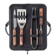 OGGI Barbecue Utensil Set with Carry Case - 5-Piece in See Photo - Closeouts