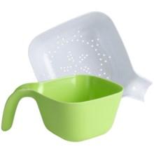 OGGI Bowl and Colander Set - 2-Pack in Green/White - Overstock