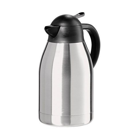 OGGI Catalina Carafe - 68 fl.oz., Stainless Steel in Stainless Steel