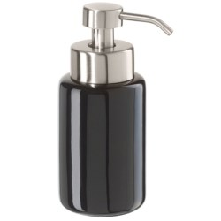"OGGI Ceramic Soap Foamer/Dispenser - 7"" in Black"
