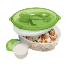 OGGI Chill To Go Food Container in Green - Closeouts