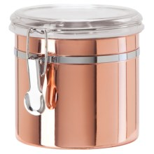 OGGI Copper-Plated Stainless Steel Canister - 42 oz. in Copper - Closeouts