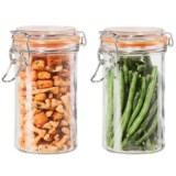 OGGI Glass Mini Canister Set - 2-Piece, 17 fl.oz.