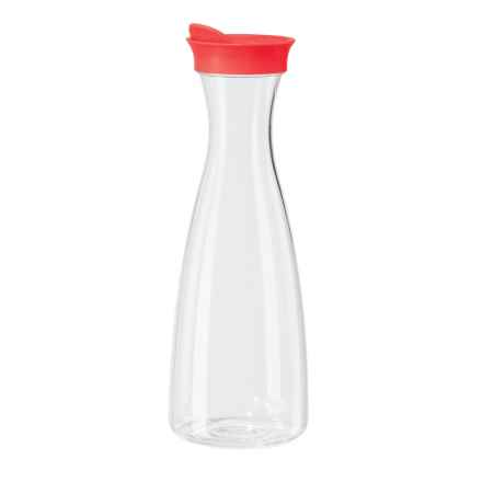 OGGI Juice Carafe with Flip-Open Lid - 54 fl.oz. in Red - Closeouts