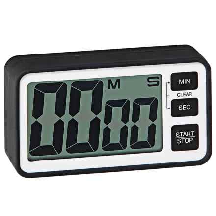 OGGI Large Display Digital Timer - Magnetic in Black - Closeouts