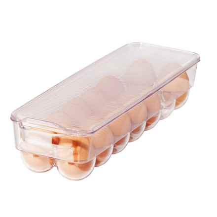 Oggi OGGI Stackable Refrigerator 14-Egg Tray in Clear - Overstock