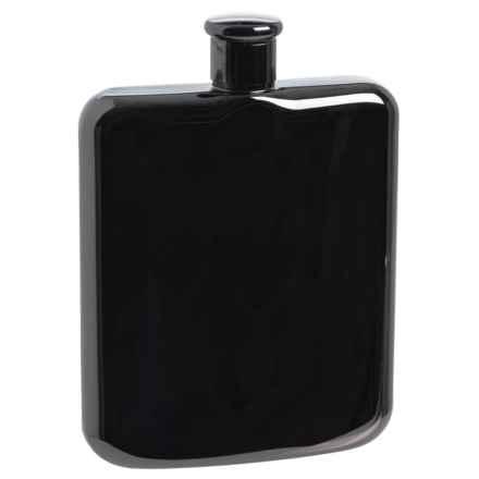 Oggi OGGI Stainless Steel Hip Flask - 6 fl.oz. in Black - Overstock