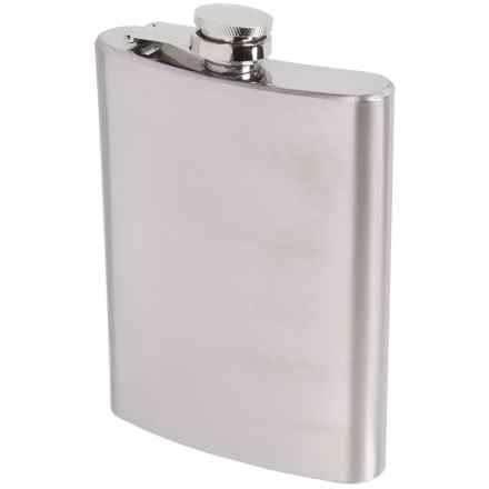 Oggi OGGI Stainless Steel Hip Flask and Funnel - 8 fl.oz. in Stainless - Overstock