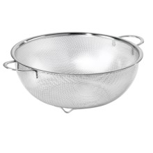 OGGI Precision Perforated Stainless Steel Colander in Stainless Steel - Closeouts