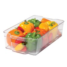 OGGI Stackable Storage Container - BPA-Free in Clear - Overstock